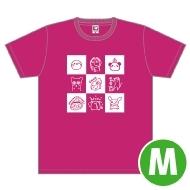 高垣彩陽 Tシャツ(M)/ Music Rainbow 06