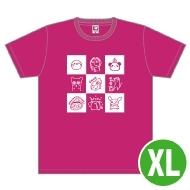 高垣彩陽 Tシャツ(XL)/ Music Rainbow 06