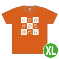 戸松遥 Tシャツ(XL)/ Music Rainbow 06