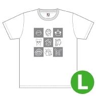 halca Tシャツ(L)/ Music Rainbow 06