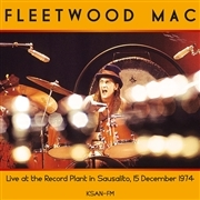 Live At The Record Plant In Sausalito.15.12.1974