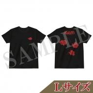 Tシャツ 黒(L)/ ライブ・スペクタクル「NARUTO-ナルト-」〜暁の調べ〜
