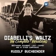 ベートーヴェン:ディアベリ変奏曲、様々な作曲家によるディアベリのワルツの主題による変奏曲 ルドルフ・ブッフビンダー(2CD)