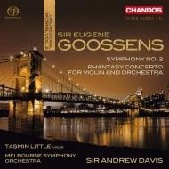 交響曲第2番、幻想協奏曲 アンドルー・デイヴィス&メルボルン交響楽団、タスミン・リトル