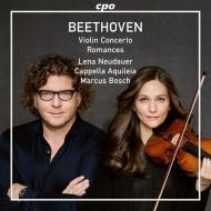 ヴァイオリン協奏曲、ロマンス第1番、第2番 レーナ・ノイダウアー、マルクス・ボッシュ&カペッラ・アキレイア