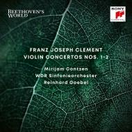 ヴァイオリン協奏曲第1番、第2番 ミリヤム・コンツェン、ラインハルト・ゲーベル&ケルンWDR交響楽団