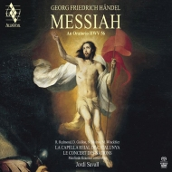 『メサイア』 ジョルディ・サヴァール&ル・コンセール・デ・ナシオン、ラ・カペラ・レイアル・デ・カタルーニャ(2SACD)