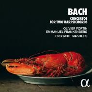 2台のチェンバロのための協奏曲集〜室内楽編成 オリヴィエ・フォルタン、エマニュエル・フランケンベルフ、アンサンブル・マスク(日本語解説付)