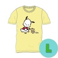 Tシャツ クリーム(L) ポチャッコ