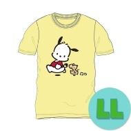 Tシャツ クリーム(LL) ポチャッコ