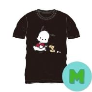 Tシャツ ブラック(M) ポチャッコ