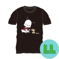 Tシャツ ブラック(LL) ポチャッコ