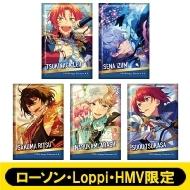 スクエアバッジ5個セット (Knights)【ローソン・Loppi・HMV限定】