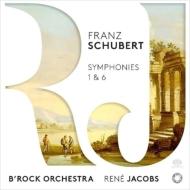 交響曲第1番、第6番 ルネ・ヤーコプス&ビー・ロック・オーケストラ(日本語解説付)