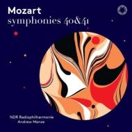 交響曲第40番、第41番『ジュピター』 アンドルー・マンゼ&北ドイツ放送フィル(日本語解説付)