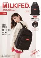 mini特別編集 MILKFED.SPECIAL BOOK Big Pocket Backpack #RED