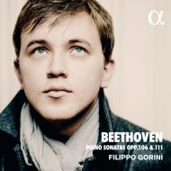 ピアノ・ソナタ第29番『ハンマークラヴィーア』、第32番 フィリッポ・ゴリーニ