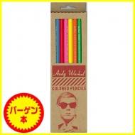 【バーゲン本】 Andy Warhol  COLORED PENCILS