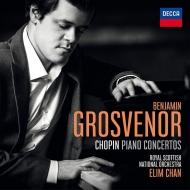 ピアノ協奏曲第1番、第2番 ベンジャミン・グローヴナー、エリム・チャン&スコティッシュ・ナショナル管弦楽団