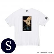 蓄光ロゴTシャツ(ホワイト / ヨーダ)Sサイズ