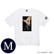 蓄光ロゴTシャツ(ホワイト / ヨーダ)Mサイズ