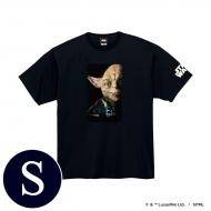 蓄光ロゴTシャツ(ブラック / ヨーダ)Sサイズ