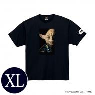 蓄光ロゴTシャツ(ブラック / ヨーダ)XLサイズ