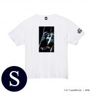 蓄光ロゴTシャツ(ホワイト / ダース・ベイダー)Sサイズ