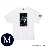 蓄光ロゴTシャツ(ホワイト / ダース・ベイダー)Mサイズ