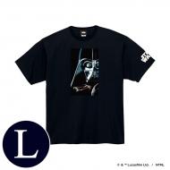 蓄光ロゴTシャツ(ブラック / ダース・ベイダー)Lサイズ