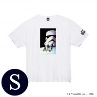 蓄光ロゴTシャツ(ホワイト / ストームトルーパー)Sサイズ