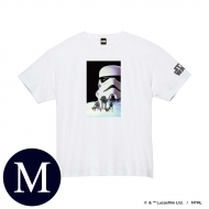 蓄光ロゴTシャツ(ホワイト / ストームトルーパー)Mサイズ