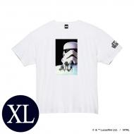 蓄光ロゴTシャツ(ホワイト / ストームトルーパー)XLサイズ