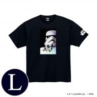 蓄光ロゴTシャツ(ブラック / ストームトルーパー)Lサイズ