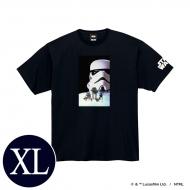 蓄光ロゴTシャツ(ブラック / ストームトルーパー)XLサイズ