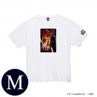 蓄光ロゴTシャツ(ホワイト / 集合)Mサイズ