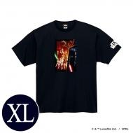 蓄光ロゴTシャツ(ブラック / 集合)XLサイズ