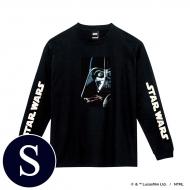 蓄光ロゴロングスリーブTシャツ(ブラック / ダース・ベイダー)Sサイズ