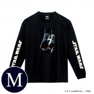 蓄光ロゴロングスリーブTシャツ(ブラック / ダース・ベイダー)Mサイズ