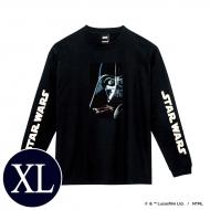 蓄光ロゴロングスリーブTシャツ(ブラック / ダース・ベイダー)XLサイズ