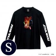 蓄光ロゴロングスリーブTシャツ(ブラック / 集合)Sサイズ