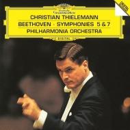 交響曲第5番『運命』、第7番 クリスティアーン・ティーレマン&フィルハーモニア管弦楽団