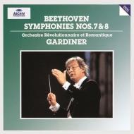 交響曲第7番、第8番 ジョン・エリオット・ガーディナー&オルケストル・レヴォリューショネル・エ・ロマンティーク