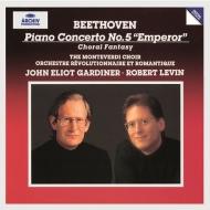 ピアノ協奏曲第5番『皇帝』、合唱幻想曲 ロバート・レヴィン、ジョン・エリオット・ガーディナー&オルケストル・レヴォリューショネル・エ・ロマンティーク