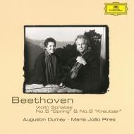 ヴァイオリン・ソナタ第5番『春』、第9番『クロイツェル』 オーギュスタン・デュメイ、マリア・ジョアン・ピリス