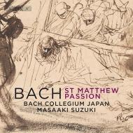マタイ受難曲 鈴木雅明&バッハ・コレギウム・ジャパン(2019)(2SACD)