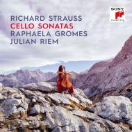 チェロ・ソナタ(初稿版&第2版)、チェロとピアノによる歌曲集 ラファエラ・グロメス、ユリアン・リーム