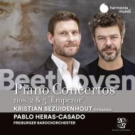 ピアノ協奏曲第5番『皇帝』、第2番 クリスティアン・ベズイデンホウト、パブロ・エラス=カサド&フライブルク・バロック・オーケストラ(日本語解説付)