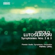 交響曲第2番、第3番 ハンヌ・リントゥ&フィンランド放送交響楽団