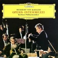 オペラ間奏曲集 カラヤン&ベルリン・フィルハーモニー管弦楽団 (180グラム重量盤レコード)